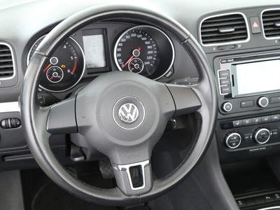 gebraucht VW Golf Cabriolet Trendline VI 1.6 TDI BMT | NAVI schwarz