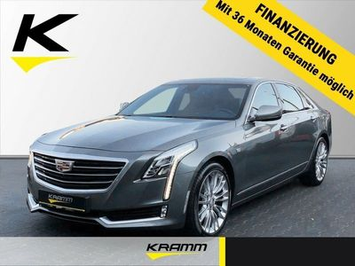gebraucht Cadillac CT6 Luxury AWD 3.0 V6 Turbo Leder LED Navi Dyn.