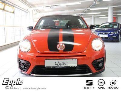 gebraucht VW Beetle R-Line BMT 2.0 TSI Start-Stopp Navi Kurvenlicht PDCv+h Multif.Lenkrad NR