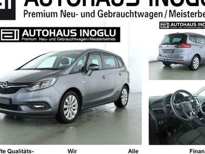 gebraucht Opel Zafira 1.4 T Navi 4.0 Lenk/SHZ AGR AHK Alu17 Temp PDC Kli