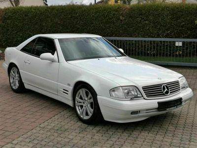 gebraucht Mercedes SL320 V6 Modellpflege Xenon Leder Hardtop