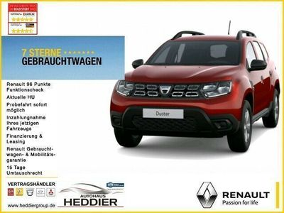 gebraucht Dacia Duster Deal SCe 100 Eco-G*Klima*Radio*Komfortpak