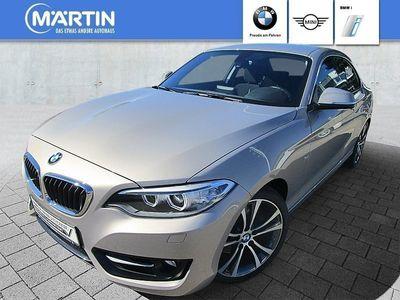 gebraucht BMW 225 d Coupé Sport Line HK HiFi DAB Xenon AHK USB