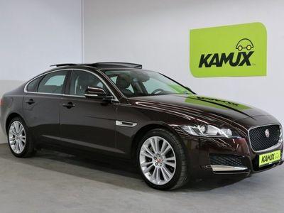 "gebraucht Jaguar XF 35T Aut. Sport AWD Portfolio 340PS +Panorama +Bi-Xenon +Leder +19""Axis +Business-Pack Premium"