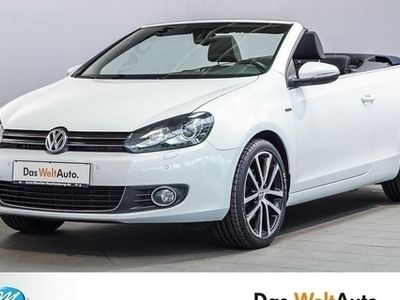 begagnad VW Golf Cabriolet 2.0 TDI LOUNGE Xenon Navi