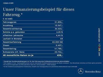 gebraucht Mercedes C43 AMG C-KlasseAMG 4MATIC T-Modell