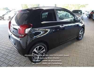 gebraucht Peugeot 108 PureTech 82 Top! Allure*FALTDACH*SITZH*