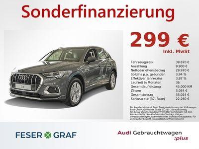 gebraucht Audi Q3 advanced 40 TFSI qu S tron Navi LED PDC DAB
