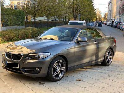 gebraucht BMW 225 2er Cabrio Sport-Aut. Sport Line