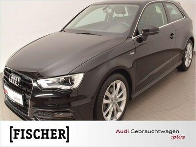 gebraucht Audi A3 Ambition 2.0TDI clean diesel S line Navi Xenon (Kl
