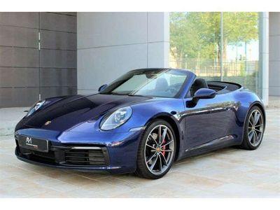 gebraucht Porsche 911 Carrera S Cabriolet 992 911/992 | Enzianblau | 1.Hd