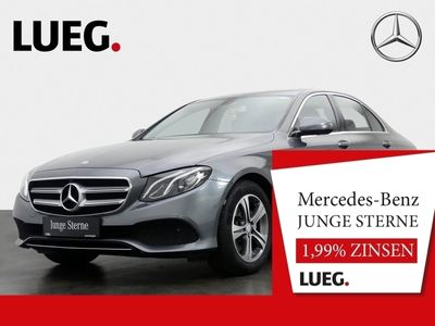 gebraucht Mercedes E200 Avantgarde+Navi+SHD+LED-HP+Mem+AmbiBel+360