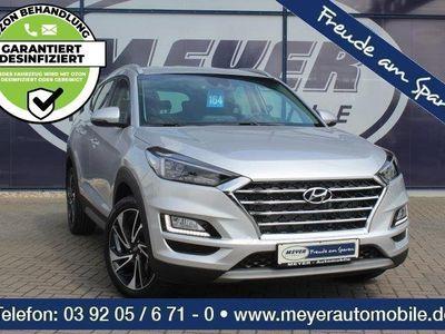 gebraucht Hyundai Tucson 1.6 T-GDI Premium LED/Navi/DAB/Kamera
