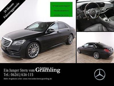 gebraucht Mercedes S400 d AMG Line 4M *Multibeam*Standheiz.*Kamera