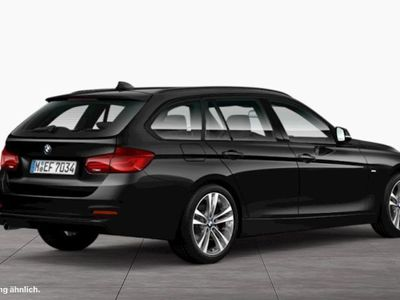 gebraucht BMW 318 d xDrive Touring Sport Line Tempomat Navi