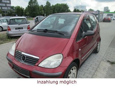 gebraucht Mercedes A140 A -Klasse A 140*Tüv 12/20*Wenig Km*Klima kühlt