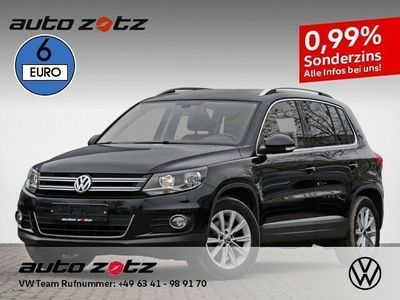 gebraucht VW Tiguan Sport + Style 1.4 TSI AHK Klima