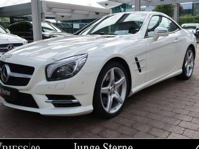 gebraucht Mercedes SL500 AMG Sport Sitzklima Pano Burmester Design
