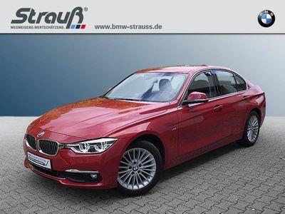 gebraucht BMW 320 d xDrive Limousine Luxury Line EURO 6 LED Navi Bus.