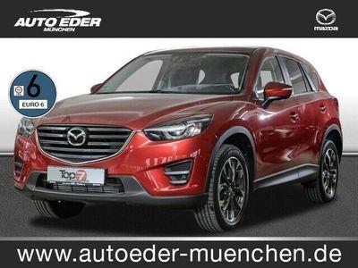 gebraucht Mazda CX-5 2.2 SKYACTIV-D Sports-Line AWD Automatik, Nav
