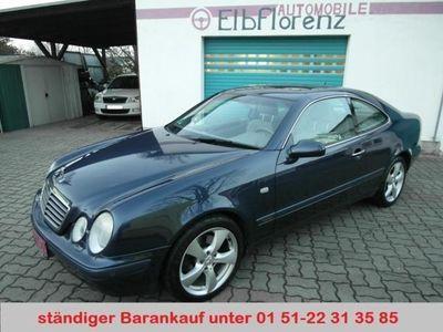 gebraucht Mercedes CLK320 Coupe (BM 208) Elegance Vollausstattung