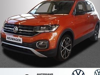 gebraucht VW T-Cross - Style 1.0TSI OPF 115PS DSG Navi Keyless