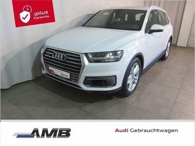 gebraucht Audi Q7 e-tron S line 3.0 TDI Luft/Matrix/AHK/ACC/BOSE/Nav+/5J.Garantie