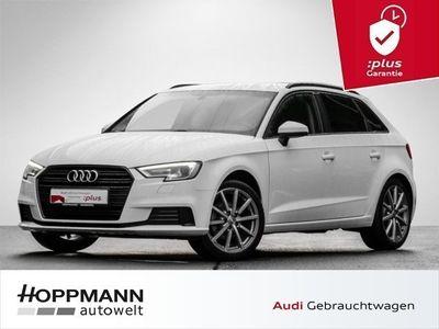 gebraucht Audi A3 Sportback nza sport 35 TFSI 18 Zoll Navi Optik schwarz