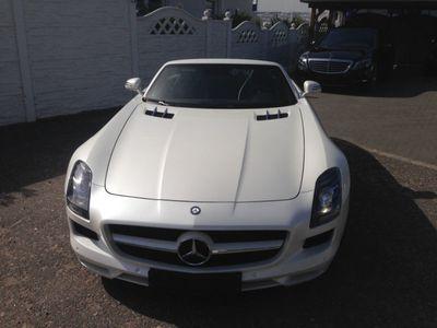 gebraucht Mercedes SLS AMG CABRIO DESIGNO EXKLUSIV MB GARANTIE BRD