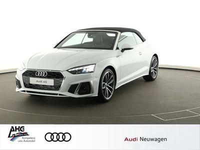 gebraucht Audi A5 Cabriolet 40 TFSI S tronic S-line LED Navi Leder GRA LM-Felge