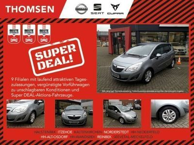 gebraucht Opel Meriva Design Edition 1.4 Klima-Radio/CD-Sitzhzg