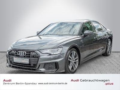 gebraucht Audi A6 Lim. 40 TDI 2x S-Line S tronic *ACC*DAB*Optik-Schwarz*
