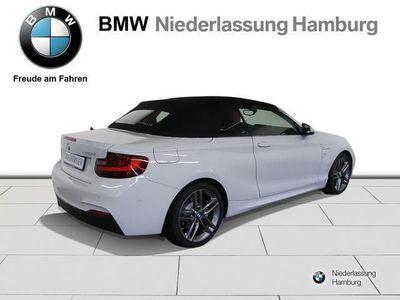 gebraucht BMW 220 d Cabrio M-Sportpaket Verkehrsschilder-Assi.