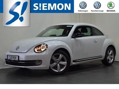 gebraucht VW Beetle Sport 1.4 TSI PDCv+h Klimaautom SHZ Temp PDC CD AUX MP3 ESP MAL Spieg. beheizbar