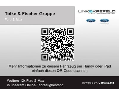 gebraucht Ford S-MAX Titanium 2.0L TDCi 7-Sitzer Navi Parklenkass. Pano