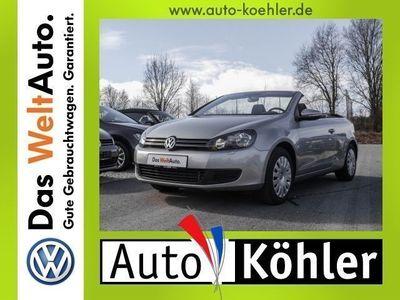 gebraucht VW Golf Cabriolet TDi RNS 315+ParkPilot