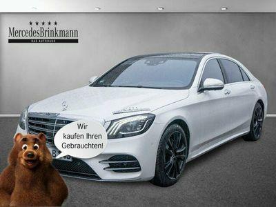 gebraucht Mercedes S560 4MATIC lang AMG/Navi/360°/Head-up/Standhz.