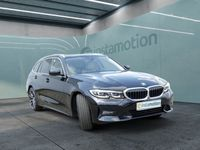 gebraucht BMW 320 320 dA Touring Sport Line LEDER+NAVI+LED+AHK+KAM
