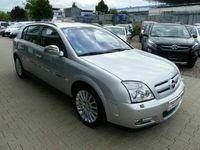 gebraucht Opel Signum Cosmo 3,2 Leder Automatik Alu Silber M.