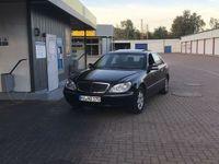 gebraucht Mercedes S350L *TÜV 05/20 *LPG*w220*winterreifen