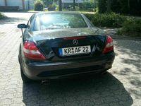 gebraucht Mercedes SLK280 W171Cabrio schwarz Vollausstattung