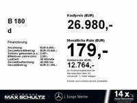 gebraucht Mercedes B180 d PROGRESSIVE*NAVI*LED*KAMERA*SITZH*DAB