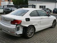 gebraucht BMW 230 i Coupé Sport Line Sport Aut.-NAVI-LEDER-LED-