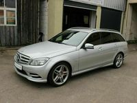 gebraucht Mercedes C350 T-Modell *Amg Paket* Navi * Rückfahrkamera* Elekt.