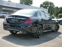gebraucht Mercedes C200 4M AMG-Sport/Navi/LED/Cam/Burm/Stdhz/19'