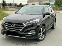 gebraucht Hyundai Tucson Premium 4WD *Automatik*Belüftung*Leder*