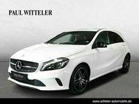 gebraucht Mercedes A180 Urban/Night-Paket/Navi/LED/Rückfahrkamera