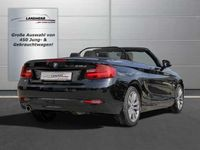 käytetty BMW 218 d Cabrio Aut. Advantage 6 Jahre Qualitätsvers