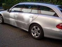 gebraucht Mercedes E270 T CDI Avantgarde Vollleder Command SSD