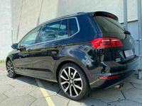 gebraucht VW Golf Sportsvan DSG R Line/ACC/Navi/LED/Pano/18